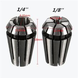 2pcs ER11 1/4 set di pinze a molla da 1/8 di pollice per utensile per tornitura di fresatura CNC da utensili per torni fornitori