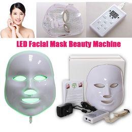 2017 vente chaude 7 couleurs Photodynamique LED Masque Facial Rajeunissement De La Peau Dispositif Électrique Anti-Âge Masque Facial Thérapie Machine Beauté Machine ? partir de fabricateur