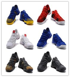Wholesale Woven Shoes For Men - (With Box)New Top quality KD 10 X Correct Version weaving Basketball Shoes for Kevin Durant 10s Airs Cushion KD10 Athletic Sports Sneakers
