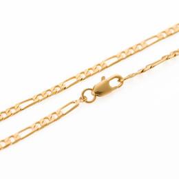 Loja de ouro 18k on-line-A loja de ouro clássico banhado a ouro 18k ouro cheio de dinheiro colar de ouro Valentim amantes do presente de casamento