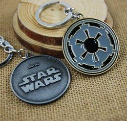 Wholesale Black Keys Signed - Star Wars Sign Movie Keychain Key Chain & Key Ring Holder Keyring Porte clef Gift Men Women Souvenirs