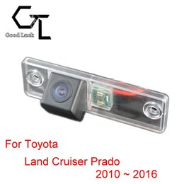 Wholesale Backup Camera For Toyota - For Toyota Land Cruiser Prado 2010 ~ 2016 Wireless Car Auto Reverse Backup CCD HD Night Vision Rear View Camera