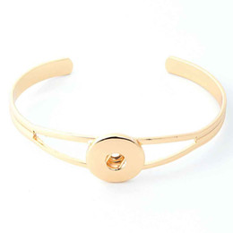 Wholesale Bracelets Gold 18 - NO.tSA021Best seller High quality Interchangeable snap bracelets jewelry for 18-20mm snaps fit ginger snaps
