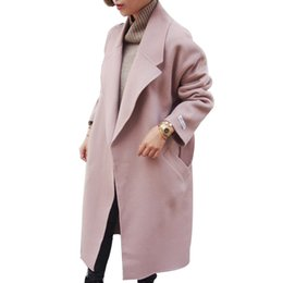 Wholesale 2016 Women Winter Coats Jackets Thick Winter Long Poncho Coats Belt Oversized High Quality Winter Quilt Long Coat Manteau Femme