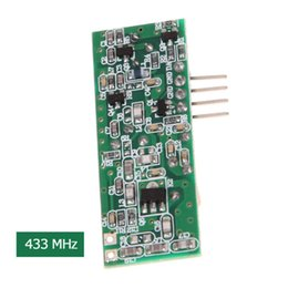 Wholesale 433mhz Transmitter Receiver Module - New 3KM Wireless Transmitter Modules 315MHZ   433MHZ Receiver For Smart Home Remote Control Free Shipping Wholesale E5M1 order<$18no track