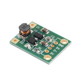 Wholesale 5v Boost - High Quality DC-DC Boost Converter Step Up Module 1-5V to 5V 500mA Power Module
