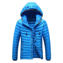 Wholesale Warm Pocket - Fall-Free Shipping 2015 Winter Mans Winter Warm Clothing Fashion Designer Overwear White Duck Down Jackets Factory Wholesale DL 185