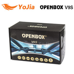 Wholesale 5pcs Factory Original Openbox V9S v9 HD Satellite Receiver Support WEB TV Biss Key USB Wifi G CCCAMD NEWCAMD Free IPTV