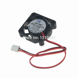 Wholesale Aluminum Bearing - Wholesale- 1PCS Gdstime DC 5V 2Pin 25mm 2cm 25x7mm 2507 Small Brushless Motor Fan