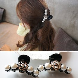 Wholesale Small Hair Clamps - 0124 2016 Newest factory sale 6pcs lot Europe Style great designer small flower hair claw clip for women hair ornament