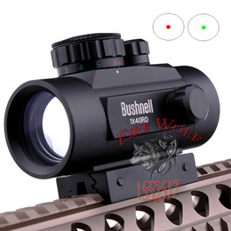 Wholesale Holographic Red Dot Sight Airsoft - 2016 NEW Tactical Hunting Holographic 1 x 40mm Airsoft Red Green Dot Sight Scope 11 & 20mm Rail Mount