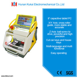 Wholesale Key Cutting Duplicated Machine - Best Automatic Key Cutting Machine SEC-E9 for Duplicating key Machine for all car keys cutting With best price and free upgrade online