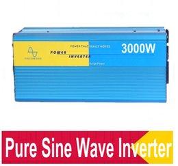Wholesale Solar Pure Sine Inverter - Digital digital display high efficiency 12v 24v to 220v 3000w solar power inverter pure sine wave off grid dc to ac voltage converter