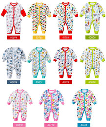 Wholesale Long Sleeve Romper Zebra - Christmas Baby Romper Jumpsuit Playsuit Bodysuit Snowsuit Rompers children First Movements autumn baby cotton long sleeve jumpsuits
