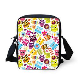 Wholesale Satchel Bags Owl - Wholesale- Multifunctional Mini Girls Messenger Bags Cute Owl Print Women Shoulder Casual Bags Kids Children Crossbody Bags Bolsa Feminina