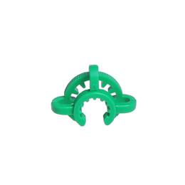 Bangs en verre usés en Ligne-Fumer Dogo Tige Clip 18mm 14mm clips de plastique keck utilisés pour joints de verre bong clips de tuyau d'eau de couleur différente