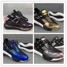Wholesale Vista Red - Mens Y-3 QASA RACER High red Vista Grey Sneakers Breathable Men Women Running Shoes Couples Y3 Outdoor Trainers Size EUR36-44
