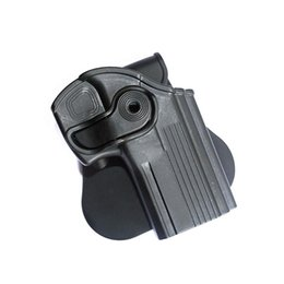 Wholesale Tactical Gun Pistol - Thumb Locking Gear Tactical Pistol Glock Holster Black Belt Gun Holster for Taurus 24 7 and 24 7-OSS