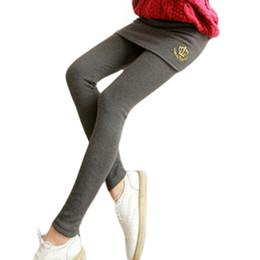 Wholesale Low Hip Skirts - Mini Skirt Leggings Women' False Two Pieces Stretch Leggings With Mini Package Hip Culottes Lycra Spandex Leggings BG489