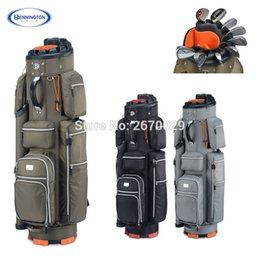 Wholesale Ems Golf Clubs - Wholesale- High Quality Bennington Golf bag Men's Espresso Cart bag A Specialist of Golf Clubs Protection EMS Free shipping