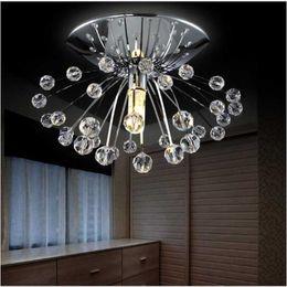 Wholesale Cristal Light Sale - 2017 Free shipping hot sale design modern crystal chandelier light Dia15*H7cm mini lustre cristal led lamp for home Guaranteed 100%