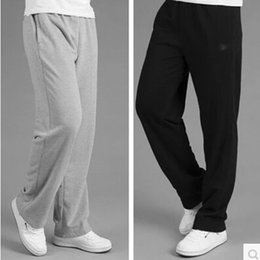 "Wholesale Increase Length - Spring and autumn sports trousers men trousers men ""s casual pants thick section breathable sports Wei pants plus fertilizer to increase cod"