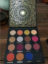 Wholesale Eyeshadow Platte - Ace Beaute Eyeshadow Platte Ace Beaute Quintessential Palette 16 Colors Matte and Shinny Eyeshadow New Makeup Drop Shipping