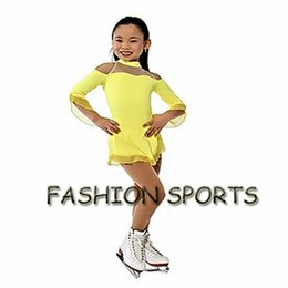 Wholesale Ice Skating Dresses For Girls - Custom Figure Ice Skating Dresses New Brand Skating Dress For Competition HB2903