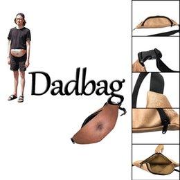 Wholesale Lifelike Men Toys - Creative 3D printed Dadbag Lifelike Muscle Fat Belly Pattern Nolvelty PU Pockets 1L Capacity Gadget for Boy Man