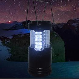 luces de emergencia vintage Rebajas Deporte al aire libre Portátil Camping Senderismo Pesca Tackle Turístico Telescópico 30 LED Linterna Luz de la lámpara 2503057