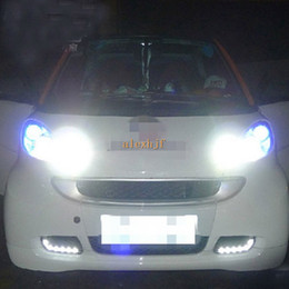 Wholesale Osram Chips - Super Bright Osram LED Chip Daytime Running Lights DRL, LED Front Bumper Fog Lamp for 2008~2011 Smart fortwo replacement, free shipping