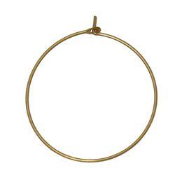"Wholesale Silver Charm Wine Glass - Copper Wine Glass Charms Round Brass Tone Blank 25mm(1"") Dia,50 PCs 2016 new jewelry making DIY"