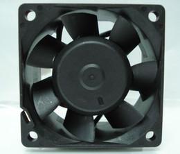 Cables del ventilador de la caja online-Delta 6038 6CM PFC0612DE 7N58 12V 1.68A 4 Wires 4 Pines Case Fan, Cooler
