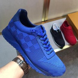Wholesale Designer Fashion Drop Shipping - drop shipping new designer casual shoes fashion running shoes for men Luxury sneakers Brands shoes for men genuine leather shoe with box