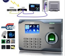 Wholesale Fingerprint Time Attendance Wifi - Biometric Wifi Fingerprint & rfid Card Time Attendance Clock +Build Id Wifi Model tcp ip Attendance Management System