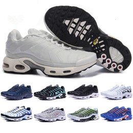 Wholesale Men Leather Pa - 2017 Men Requin Pas Cher Fashion air Tn running Shoes Sales TOP Quality Cheap France Basket Tn Requin Chaussures Size 41-46