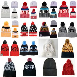 Wholesale Boston Beanie - baseball basketball football Hockey beanies team hats New York England Los Angeles Caps Houston Chicago Boston Toronto caps snapbacks