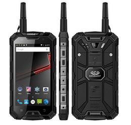 Venda de câmeras impermeáveis on-line-Original Conquest S8 Telefone À Prova D 'Água Robusto 5.0 Polegadas MTK6735 Qctacore 4 GB + 64 GB 5 + 13MP Câmera WalkieTalkie Android 6000 mah Bateria Venda Quente