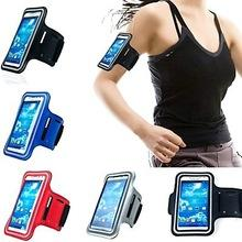 Wholesale Sport Armband Iphone4 - Wholesale-4 Inch phone bag Workout Phone Armband Gym Running Sport Arm Band Protective Cover Case For iPhone4 4s 5 5s galaxy s3mini s4mini