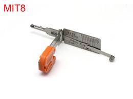 Wholesale Transponder Lock - Smart MIT8 2 in 1 auto pick and decoder lock pick tool locksmith for Mitsubishi transponder key ID46(with left keyblade)