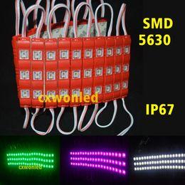 2019 iluminação exterior 12v As letras de canal que iluminam conduzem as luzes 5630 dos módulos 3Leds 1.2W A injeção conduziu os módulos com a lente 12V da tampa impermeável para o quadro de avisos exterior iluminação exterior 12v barato