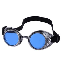 Wholesale Steampunk Costume Accessories - Wholesale-JECKSION Steampunk Goggles 2016 Fashion Vintage Style Welding Punk Glasses Cosplay #2