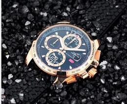 Wholesale Miglia Watch - New style luxury watches men quartz chronograph watch 1000 miglia sport rubber band wristwatch 537