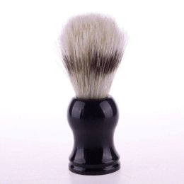 Wholesale Cheap Professional Brushes - Professional Shaving Brush Barber Salon Shave Tool Faux Badger Bristle Hair 01#48236 Shaving Brush Cheap Shaving Brush