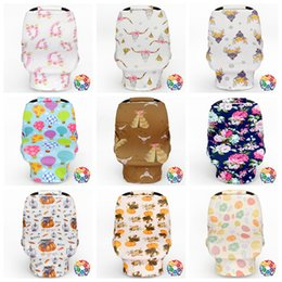 Wholesale Nurse Cases - Baby Stroller Cover Car Seat Canopy Shopping Cart Cover Sleep Pushchair Case Pram Travel Bag By Cover Breastfeed Nursing Covers OOA2519
