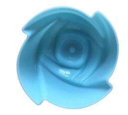 Transporte rápido 5 cm Rosa Flor Bolo Pudim Mould Grau Silicone Bolo Mold Queque Molde De Cozimento Molde Bakeware de Fornecedores de molde de pudim de flores