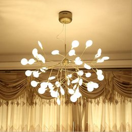 Wholesale Ce Design Hotel - Creative led firefly chandelier, Nordic art personality villa dining room bedroom chandelier warm and simple design personalized
