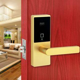 Wholesale Intelligent Fingerprint Lock - Smart Keyless Biometric Fingerprint Door Lock Intelligent Security Electronic Door Locks