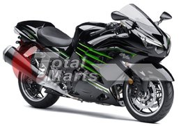 Wholesale zx14 black - Fairing For Ninja ZX14R ZX14 ZX1400 ZZR1400 2012 2013 12 13 Injection ABS Black F1315C