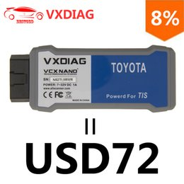 Wholesale toyota techstream j2534 - VXDIAG VCX NANO for TOYOTA TIS Techstream V12.00.127 Compatible with SAE J2534 USB Connection OBD2 Diagnostic Tool